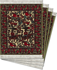 CoasterRugs Jade Fars Set