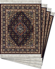 CoasterRugs Midnight Persian Set