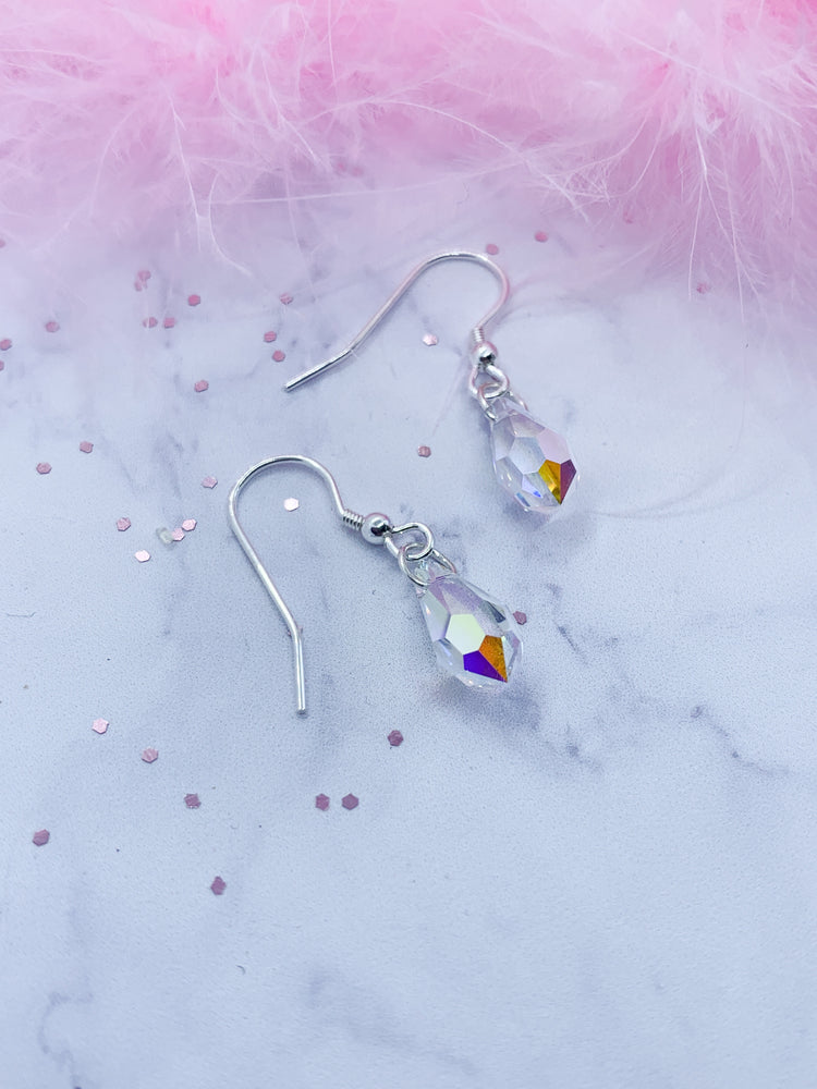 Swarovski Crystal Drop Earrings - Eve & Flamingo