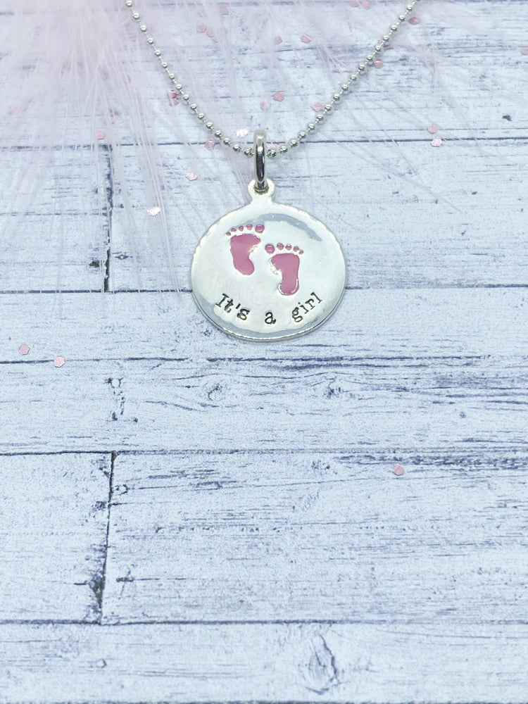 Baby Pendant - Eve & Flamingo