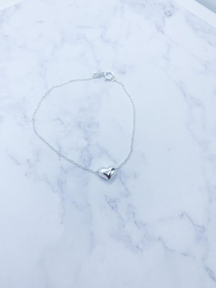 Cute heart bracelet - Eve and Flamingo