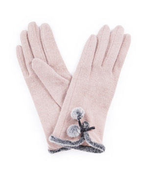 Powder Betty Wool Gloves - Camel - Eve & Flamingo