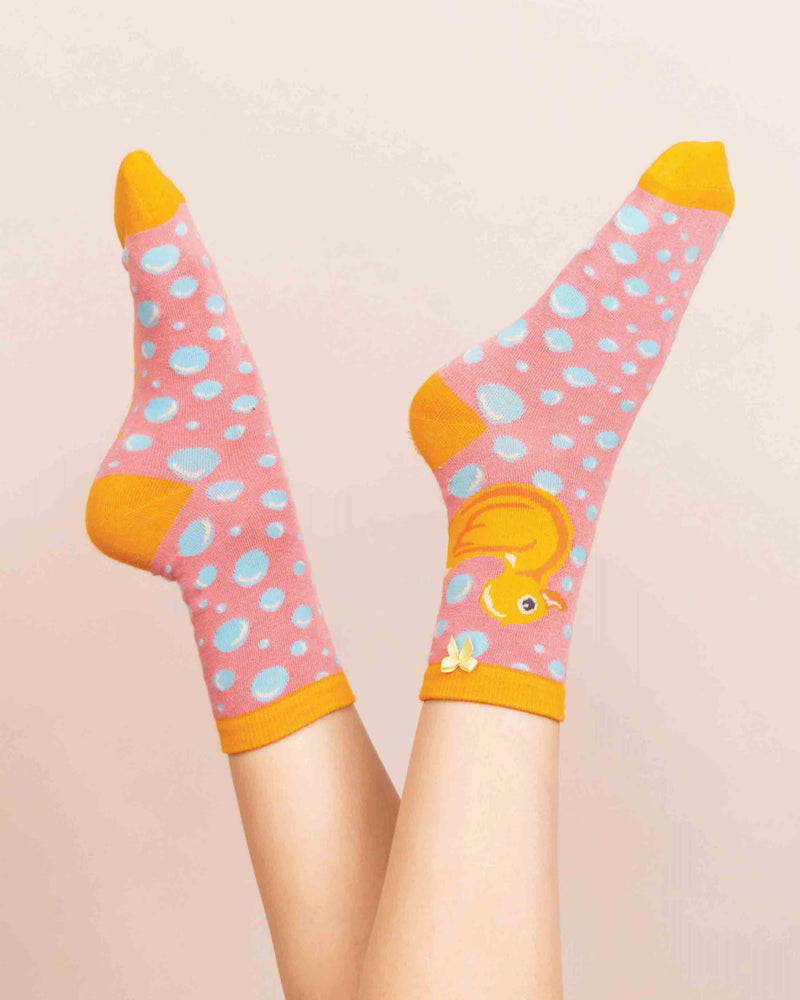 Powder Rubber Duck Socks - Eve & Flamingo