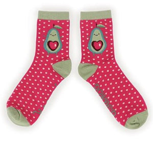 Avocado Ankle Socks - Eve & Flamingo