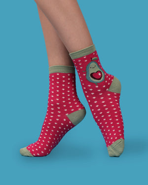 Avocado socks - Eve & Flamingo