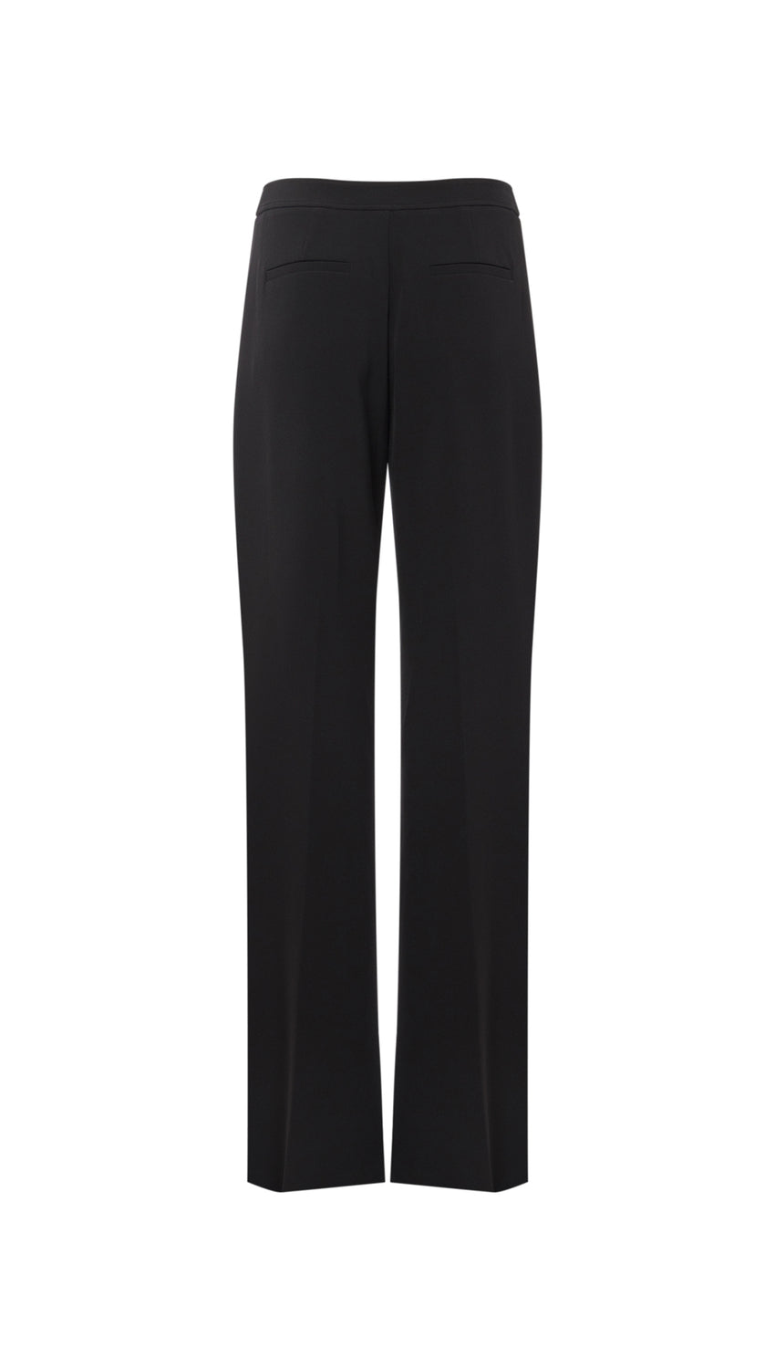 Wide Leg Trouser in Jet