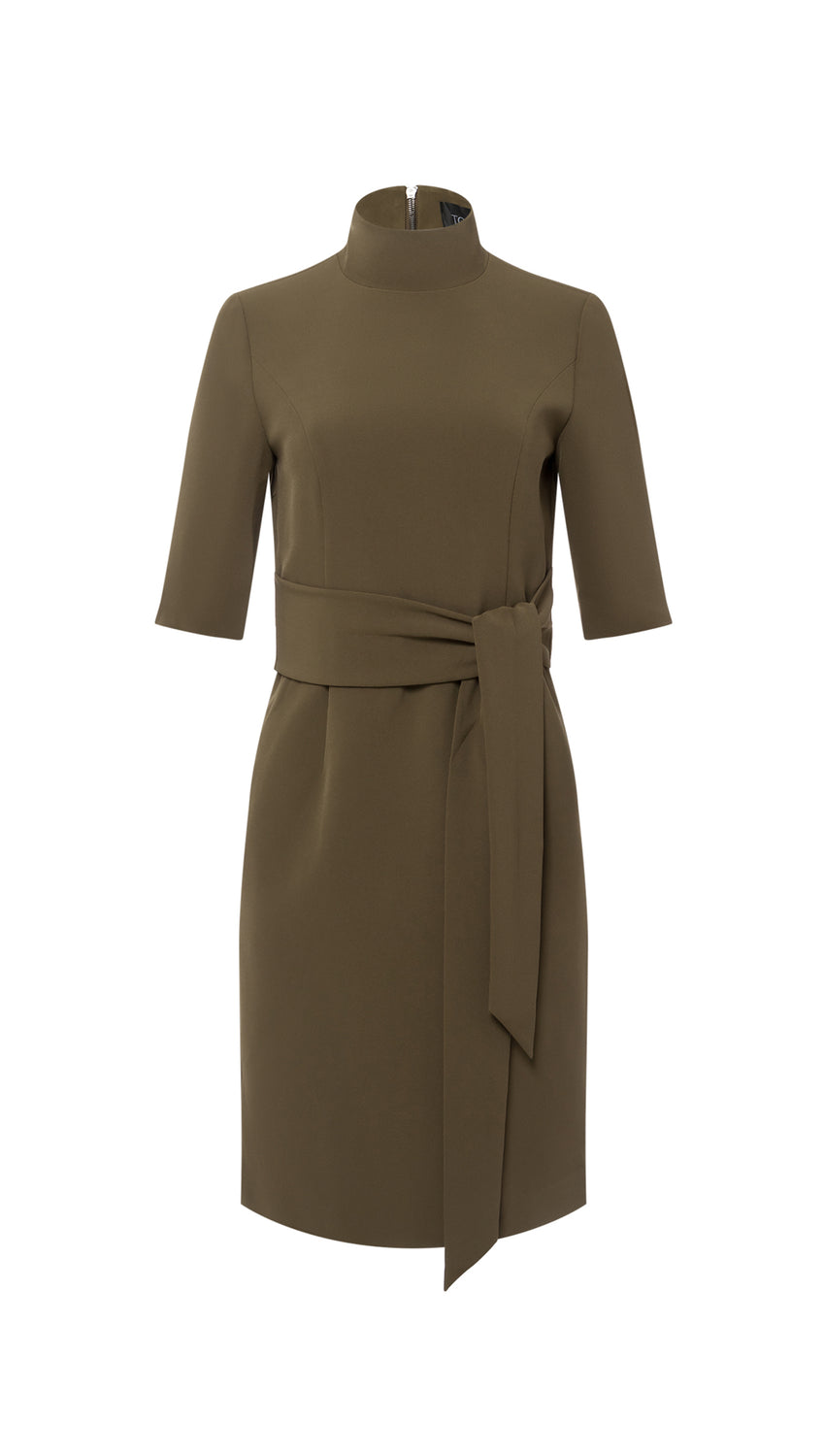 Front Tie Sheath in Olive
