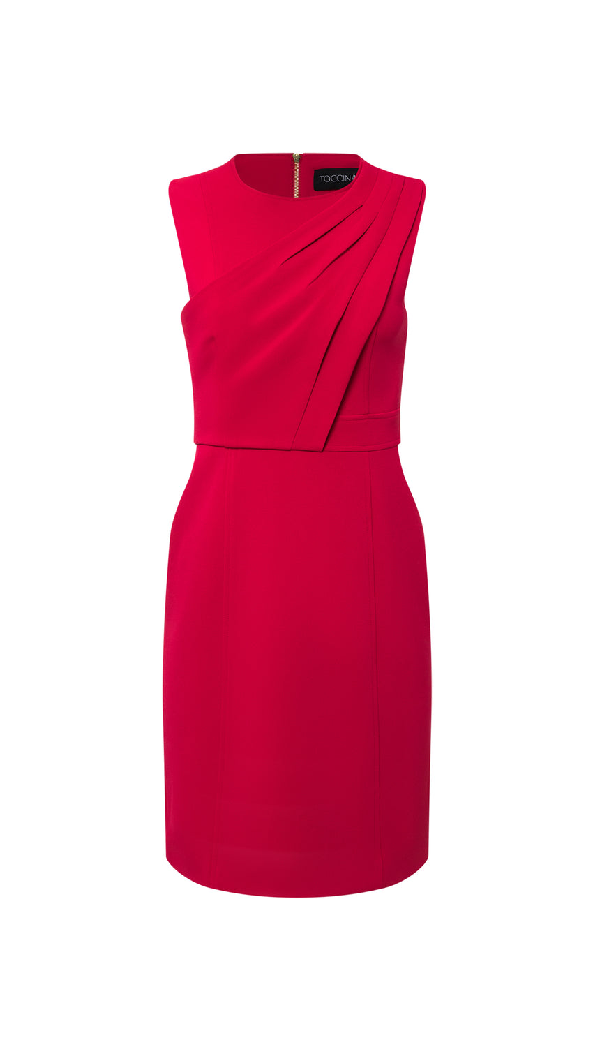 Toga Sheath in Raspberry