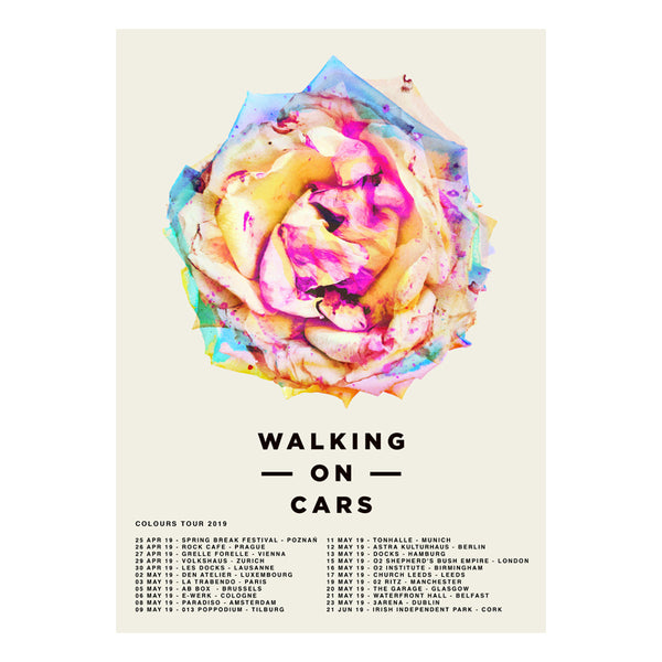 COLOURS 2019 TOUR POSTER