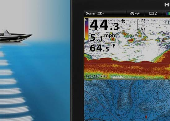 Humminbird CHIRP Digital Sonar