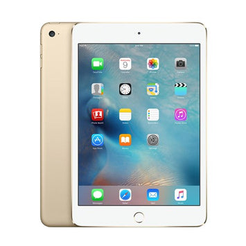 Apple iPad Mini 4 - 7.9-inch - Wi-Fi - 16GB - Gold - BT WiFi Webcam