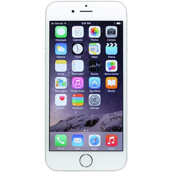 Apple iPhone 6 - 128 GB - Unlocked - Silver - Unlocked Touch ID
