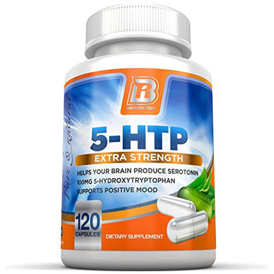BRI Nutrition BRI-5HTP-120-CAPS (Single Pack)