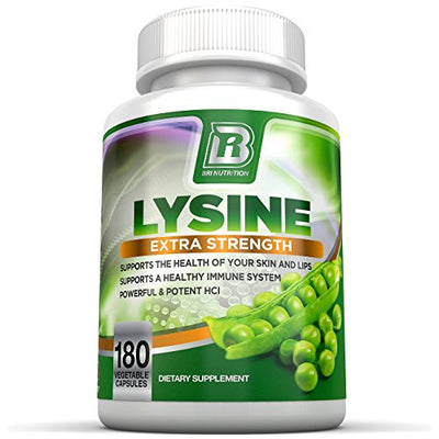 BRI Nutrition BRI-L-LYSINE-180-CAPS (Single Pack)