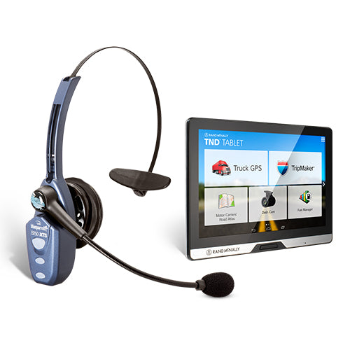BlueParrott B250-XTS w/ Rand Mcnally TND Tablet 80 Own The Road Package Deal