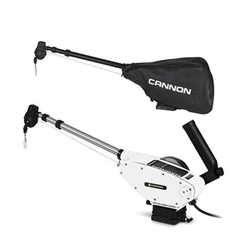 Cannon Magnum 10 STX-TS Downrigger With Black Cover
