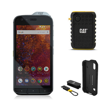 CAT S61 Smartphone Bundle - With 2 Accessories