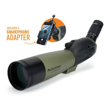 Celestron Ultima 80 - 45° w/ Smartphone Adapter - Spotting Scope