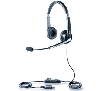 Jabra UC Voice 550 Duo - Stereo Corded Headset