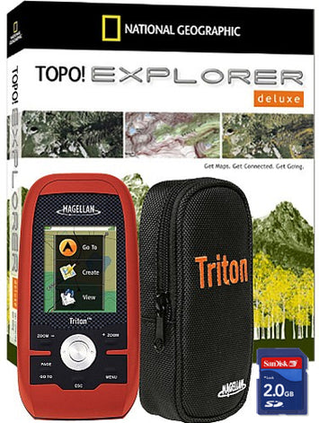 Magellan Triton 400 Adventure Pack - 2.2