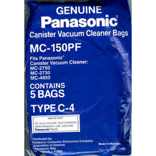 Panasonic MC-150PF - Replacement Vacuum Bags