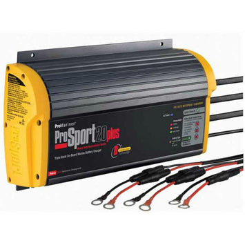 Promariner Prosport 20 Plus Gen 3 Marine Battery Charger - 20 Amp - 3 Bank