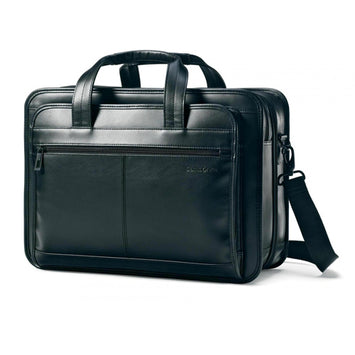 Samsonite Leather Expandable Business Case (16.75