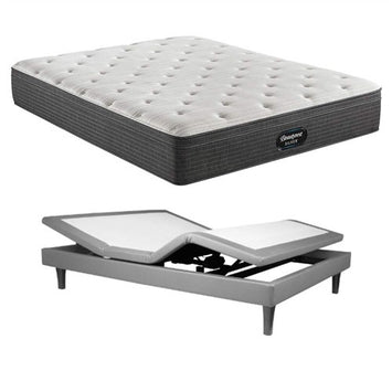 Simmons BRS900 Medium ET King Mattress w MP III Base - Beautyrest Silver
