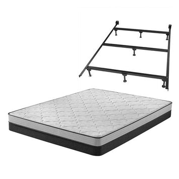 Simmons Foam F King LP Set w Frame - Beautyrest Foam