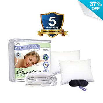 Simmons Platinum Sleep Package Full - Accessory  Package Deal