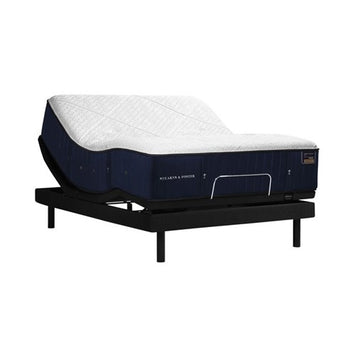 Stearns & Foster RH LF TwinXL Mattress w Ease Power Base - Stearns & Foster Mattress