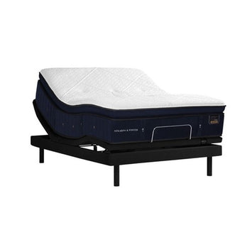 Stearns & Foster RH PPT King Mattress w Ease Power Base - Stearns & Foster Mattress