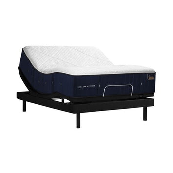 Stearns & Foster Reserve Hepburn PL TwinXL Mattress w Ergo Base - Stearns & Foster Mattress