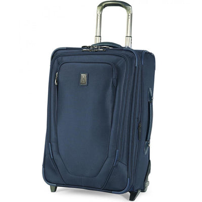Travelpro Crew 10 Rollaboard 22Inch - Navy - Expandable Rollaboard Suiter-2 Wheels