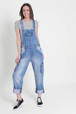 Uskees Daisy Denim Dungarees