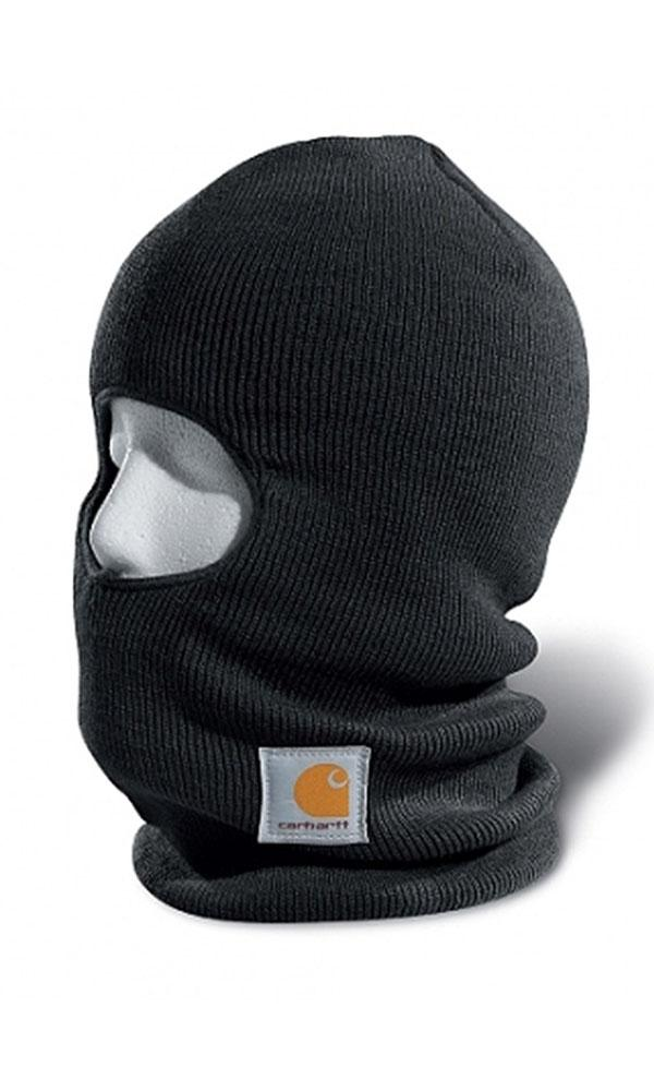 Black face mask with Thinsulate Flex insulation.