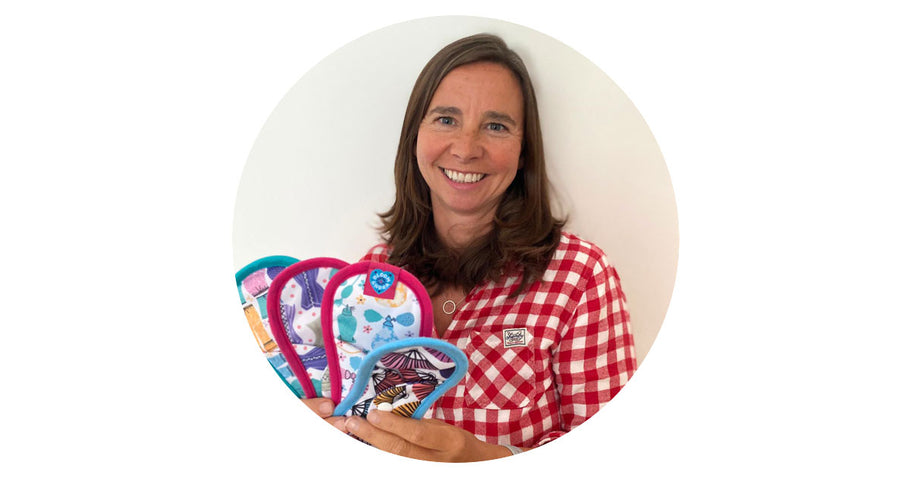 Lynn shares her Bloom & Nora cloth pad switching story