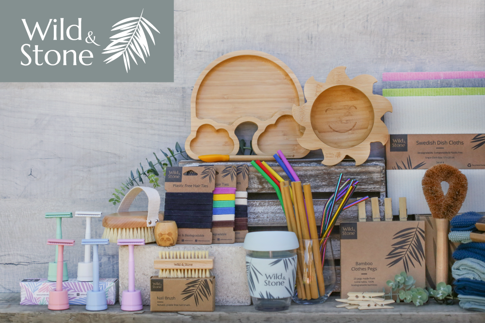 Wild & Stone reusable product collection