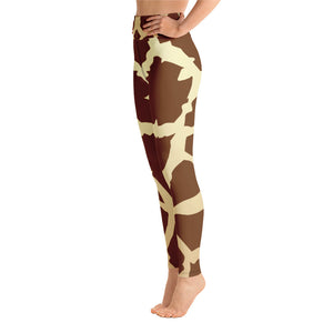 d5b97d9617ffd Giraffe animal skin Yoga Leggings – Ommie Leggings