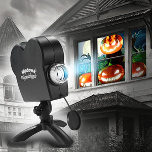 Christmas and Halloween Projector (12 Films)