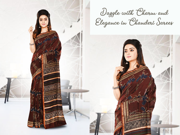 Dazzle with Charm and Elegance in Chanderi Sarees