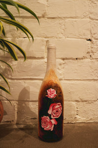 Floral Recycled Bottle Vase