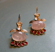 Load image into Gallery viewer, ROSE QUARTZ EARRING 1