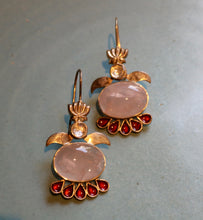 Load image into Gallery viewer, ROSE QUARTZ EARRING 2