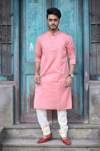 Load image into Gallery viewer, Pink Men's Kurta