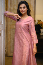 Load image into Gallery viewer, Chanderi Kurta - 007