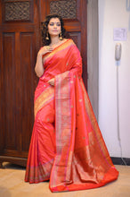 Load image into Gallery viewer, Banarasi Saree - 003