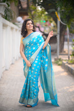 Load image into Gallery viewer, Banarasi Saree - 007