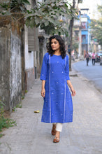 Load image into Gallery viewer, Royal Blue Kurti