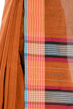 Load image into Gallery viewer, Khadi Silk Sari - Brown